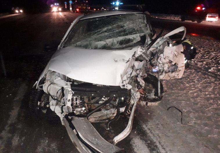 В Агаповском районе в лобовом столкновении на трассе погибли двое