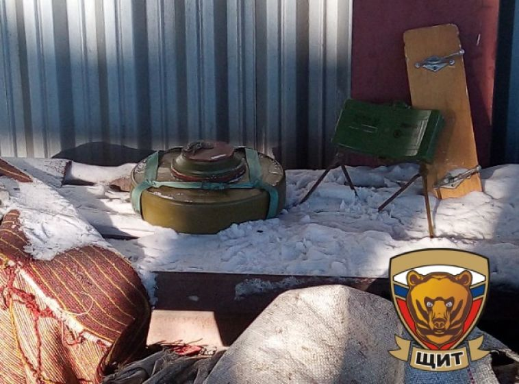 В Магнитогорске на городской свалке обнаружили две мины