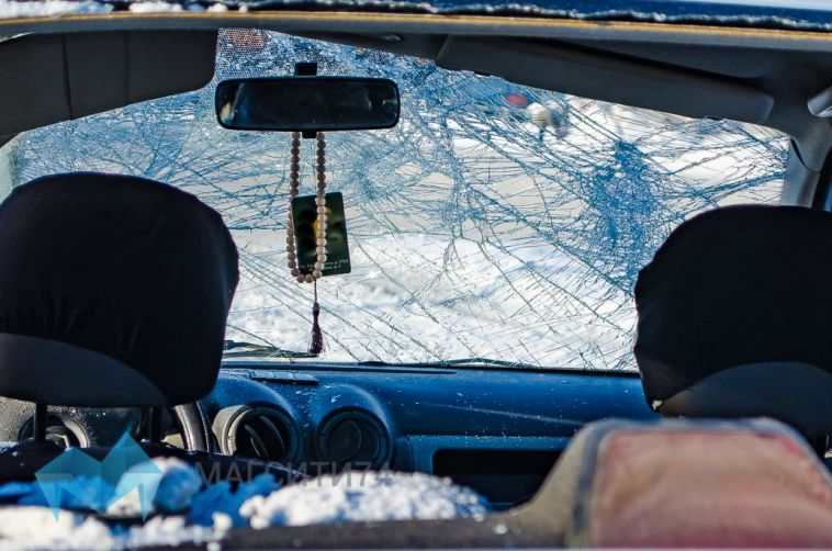 В Магнитогорске автомобилист после ДТП уехал на работу
