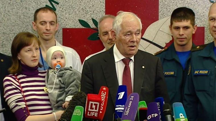 Леонид Рошаль: «Ваню лечила вся страна»