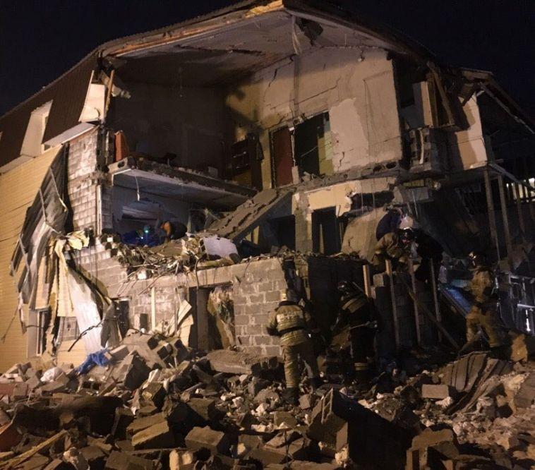 В Красноярске из-за хлопка газа обрушился жилой дом