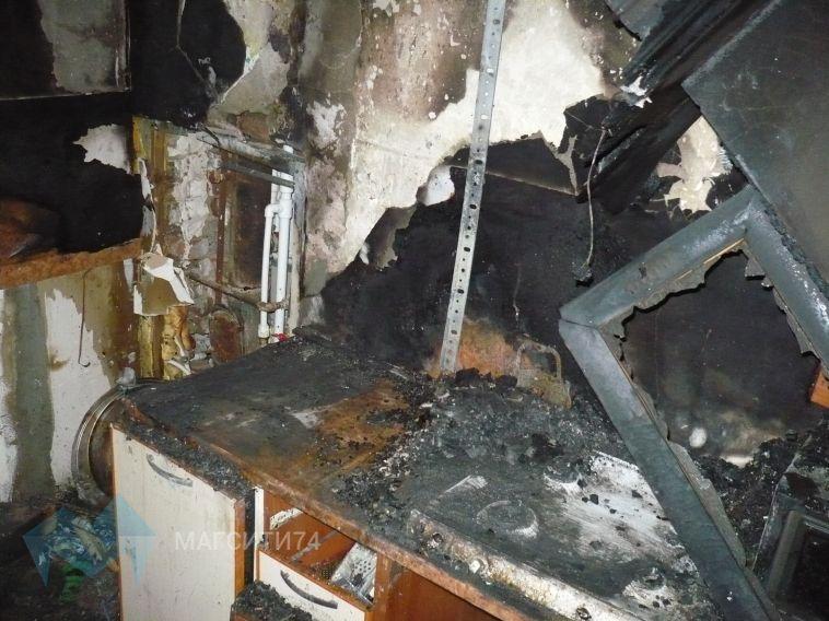 В Магнитогорске пожар унёс две жизни