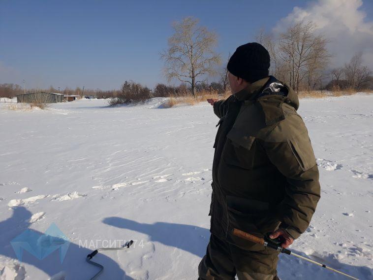 В Магнитогорске под лед провалились три человека