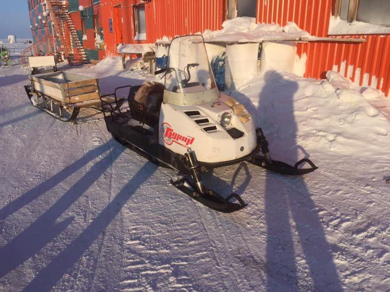 Магнитогорские путешественники дошли по льду до самого северного поселка Якутии