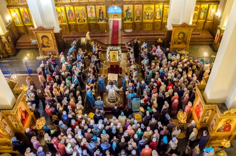 В Прощеное воскресенье епископ проведет вечернюю службу