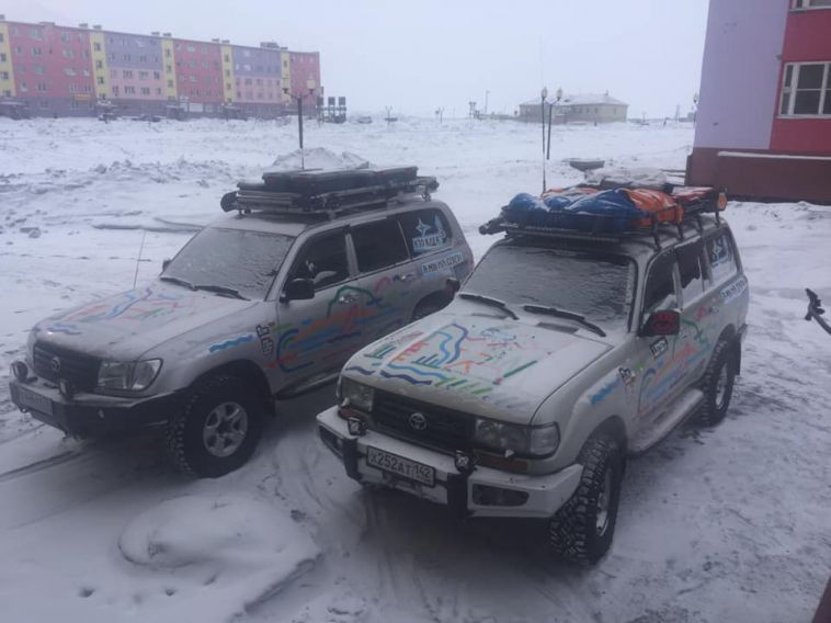 Участники экспедиции «Северная тропа-2019» добрались до Чукотки