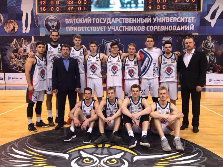 Баскетбольный клуб МГТУ завоевал бронзу в студенческом чемпионате России