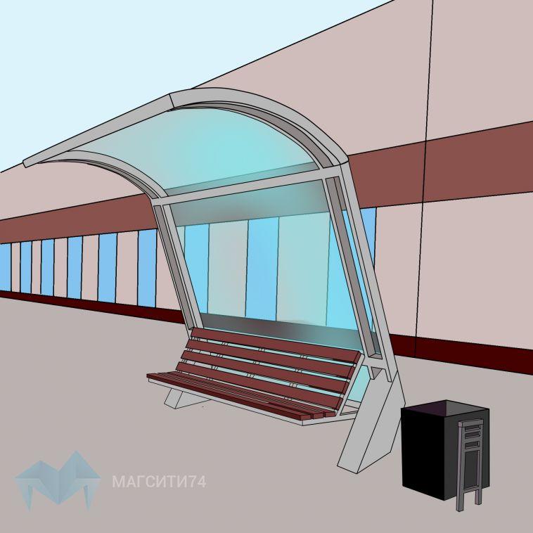 В Магнитогорске установят порядка 60 новых остановочных комплексов