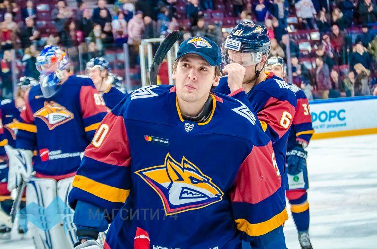 Вратарь «Металлурга» Артём Загидулин подписал контракт новичка с клубом НХЛ