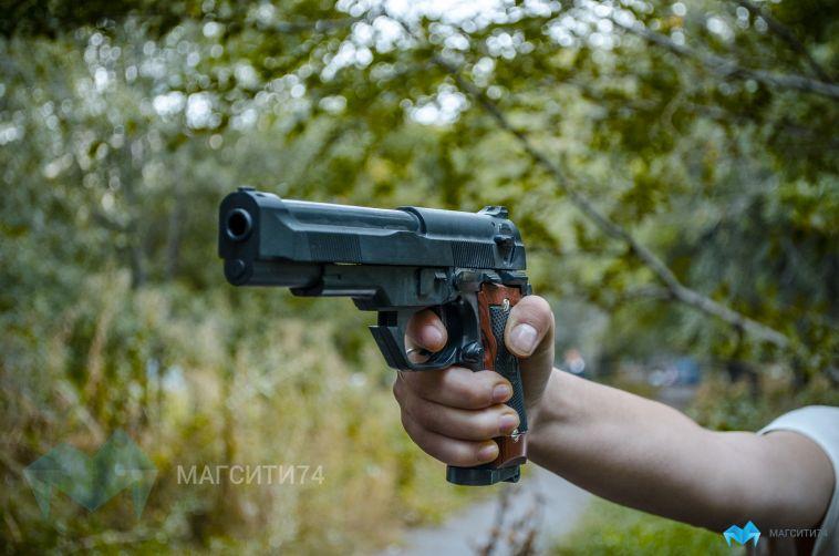 Пьяный магнитогорец угрожал водителям газовым пистолетом
