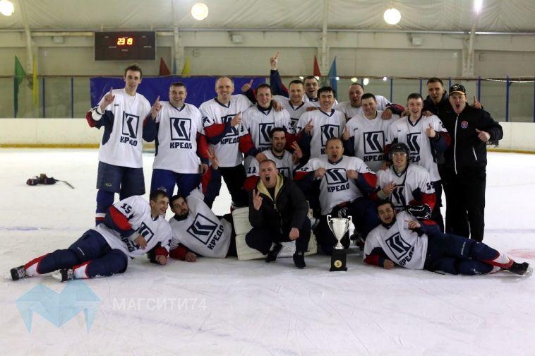 В Федерации хоккея Магнитогорска завершился сезон в дивизионе «Любитель +»