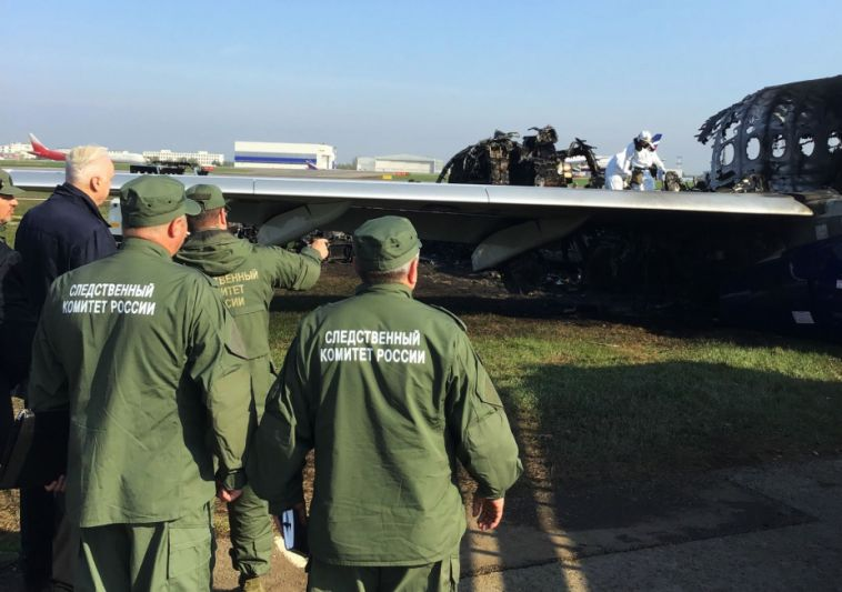 СК назвал версии авиакатастрофы в аэропорту Шереметьево