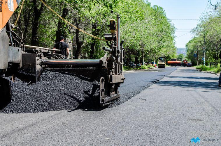 Областные власти проинспектировали ремонт дороги, ведущей в Магнитогорск