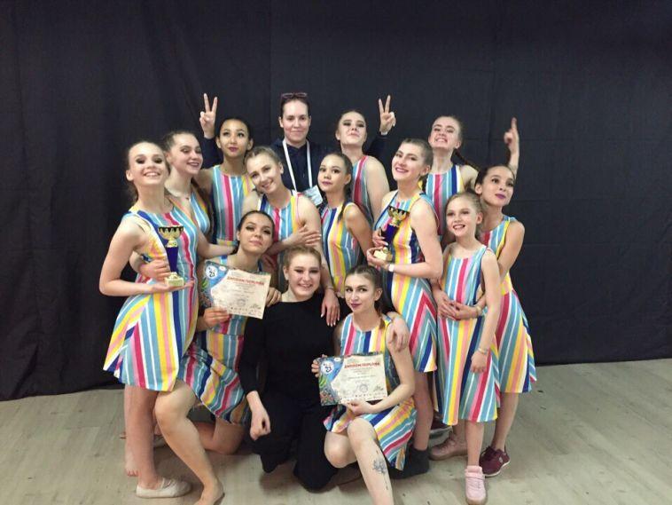 Магнитогорский коллектив собрал призы Всемирной танцевальной олимпиады