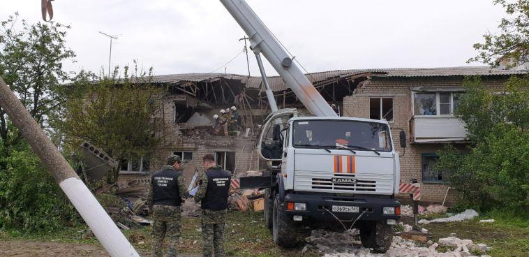 В Ростовской области произошел взрыв газа в жилом доме