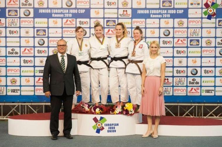 Спортсменка из Магнитогорска выиграла серебро на Кубке Европы по дзюдо