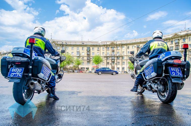 На улицах  Магнитогорска дежурит двухколесный патруль