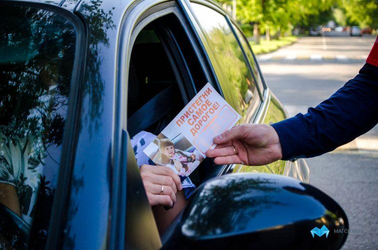 Инспекторы проверили, как водители соблюдают правила перевозки детей