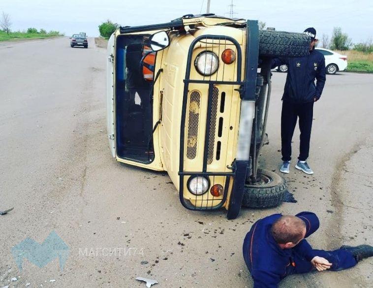 В аварии на левом берегу пострадал водитель