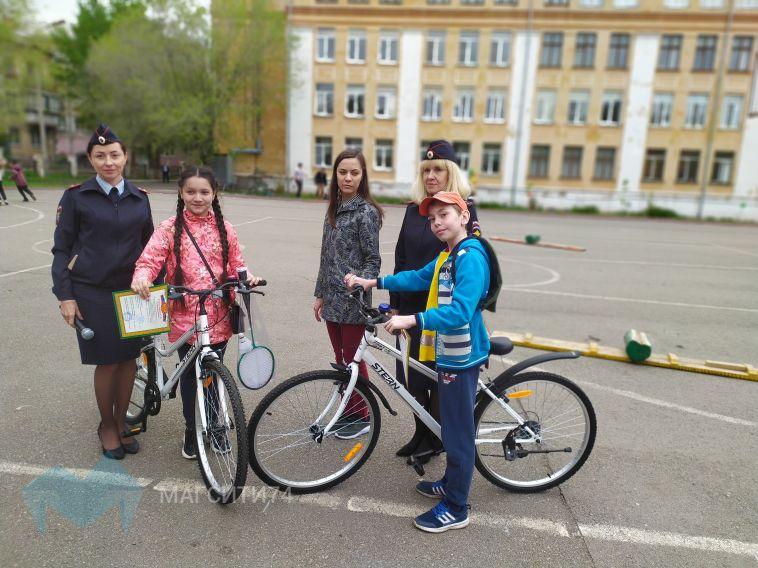 В Магнитогорске прошли традиционные соревнования «Безопасное колесо»