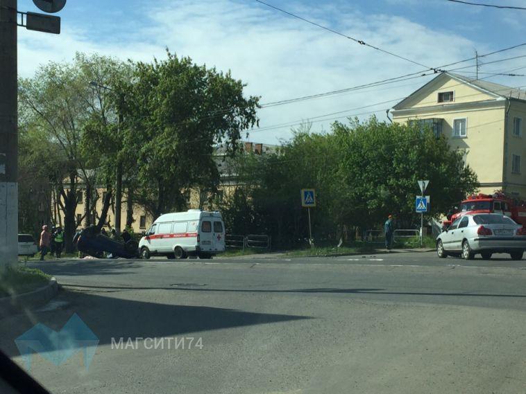 Ремни безопасности спасли от травм водителя и пассажира «Нивы»