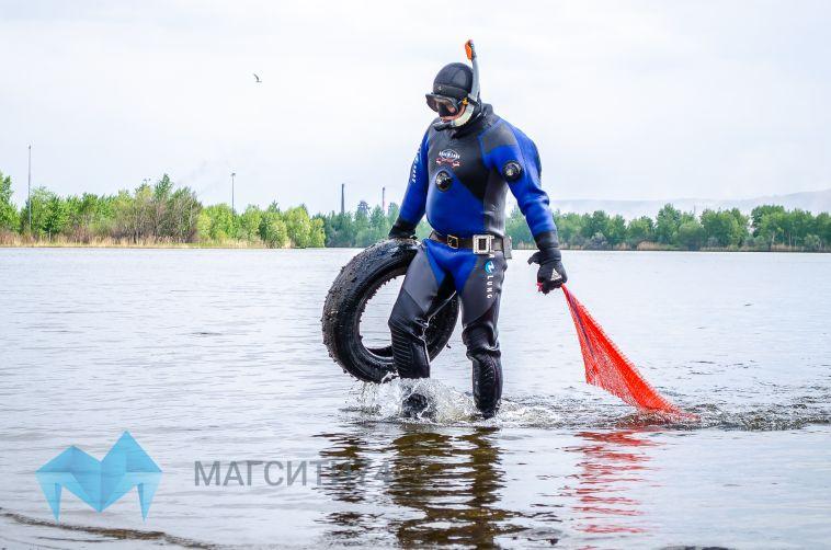 В Магнитогорске началась подготовка к пляжному сезону