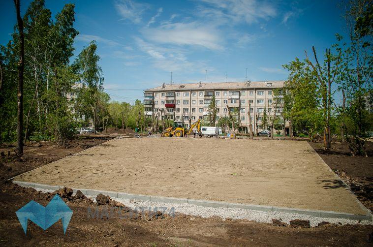 Концептуальный рисунок и 240 метров живой изгороди появятся в новом сквере