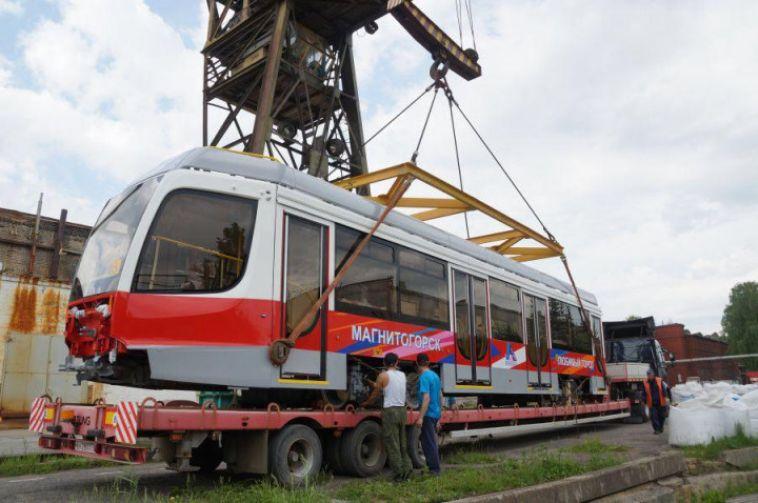 Магнитогорск в ближайшие месяцы получит 15 новых трамваев