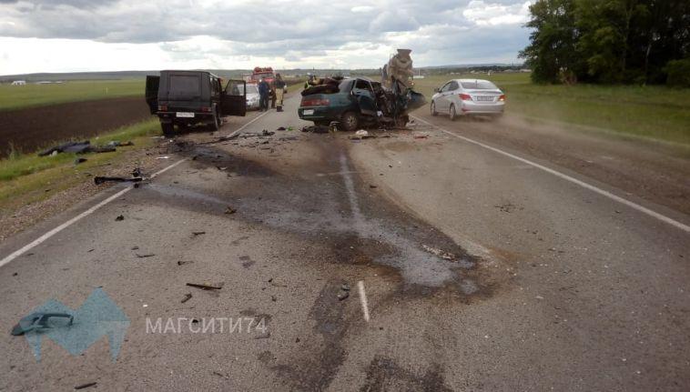 На башкирской трассе погибли двое в ДТП с «Гелендвагеном»