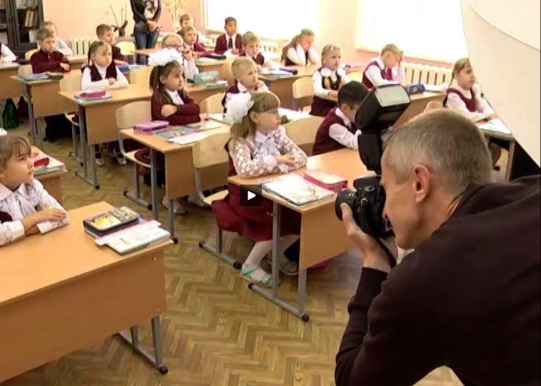 В этот раз с июня. В Магнитогорске полным ходом идёт фотографирование к «Параду первоклассников»
