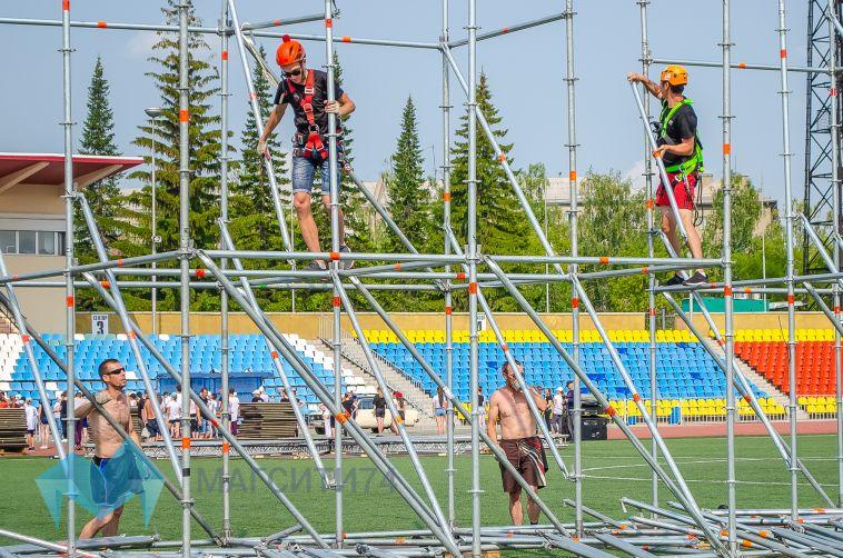 Ко Дню города в Магнитогорск завезли около 60 тонн оборудования