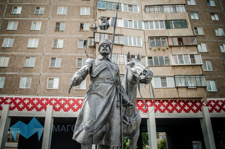 Состоялось торжественное открытие памятника, посвященного воинам станицы Магнитной