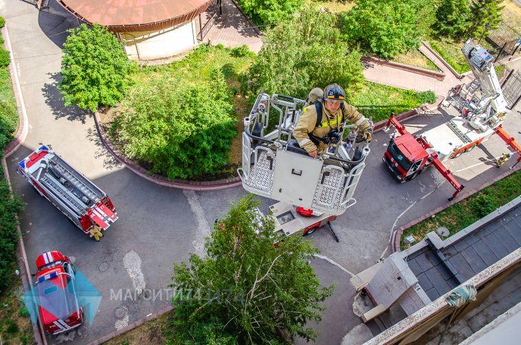 Звуки пожарной сигнализации нарушили покой пенсионеров