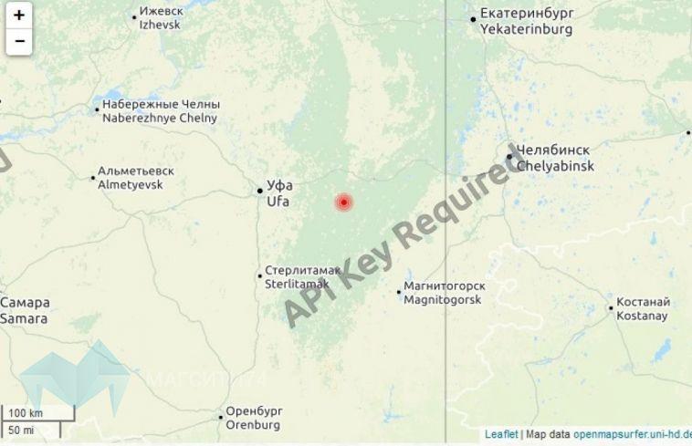 Возле Магнитогорска зафиксировали несколько землетрясений
