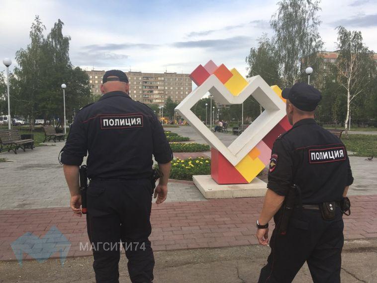 Полицейские разогнали любителей выпить на свежем воздухе