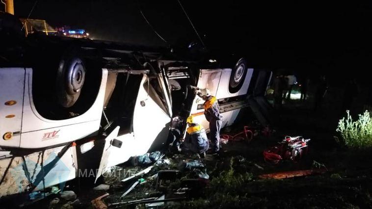 В Башкирии погибли шесть пассажиров автобуса