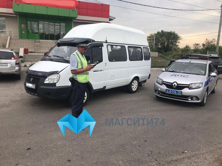 Инспекторы ДПС остановили пьяного водителя маршрутки