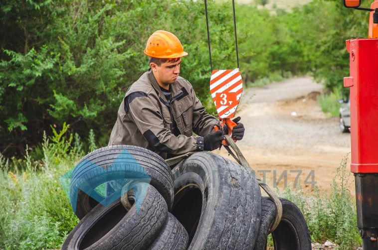 В Магнитогорске стартовала экологическая акция по сбору шин