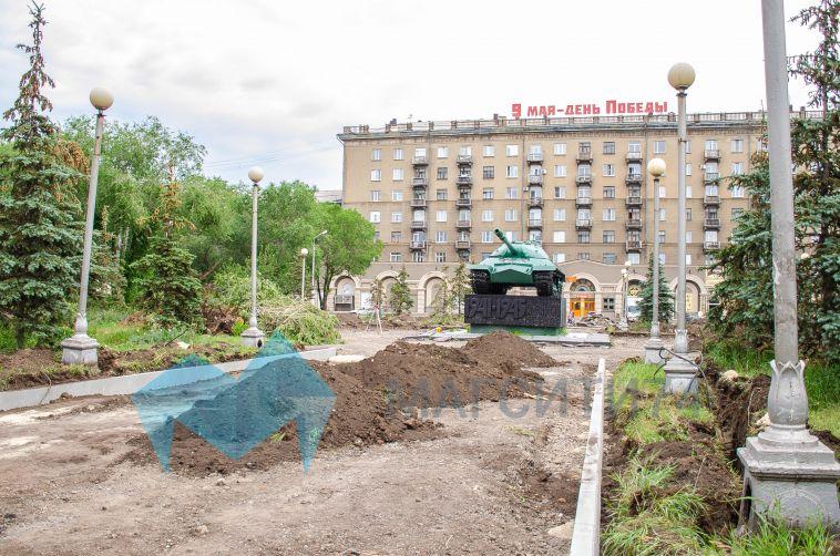 В Магнитогорске восстановят исторический облик сквера Победы