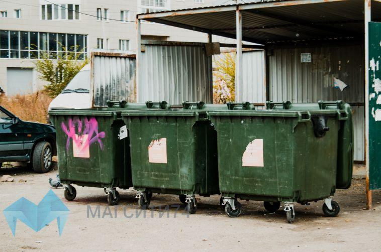 Покупку мусорных баков сдерживают долги потребителей