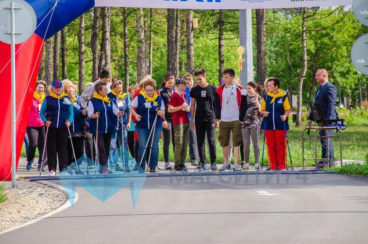 Магнитогорские волонтёры пробежали «Километры добра»