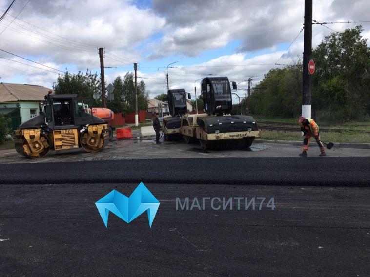 На улице Маяковского обновят семьсот метров асфальта