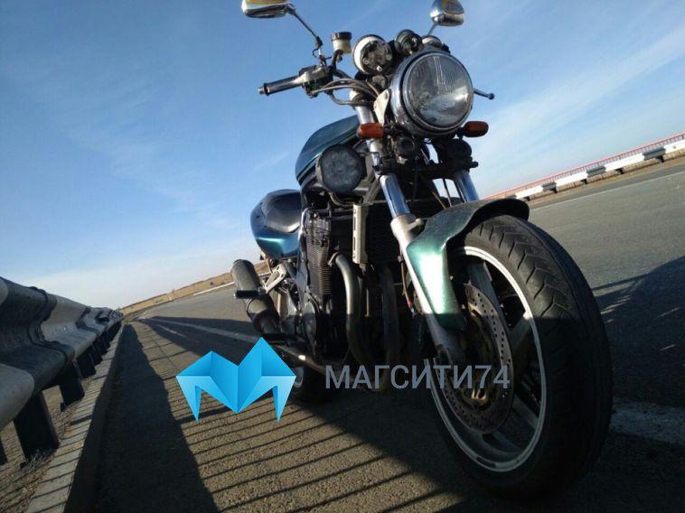 У магнитогорца угнали редкий мотоцикл
