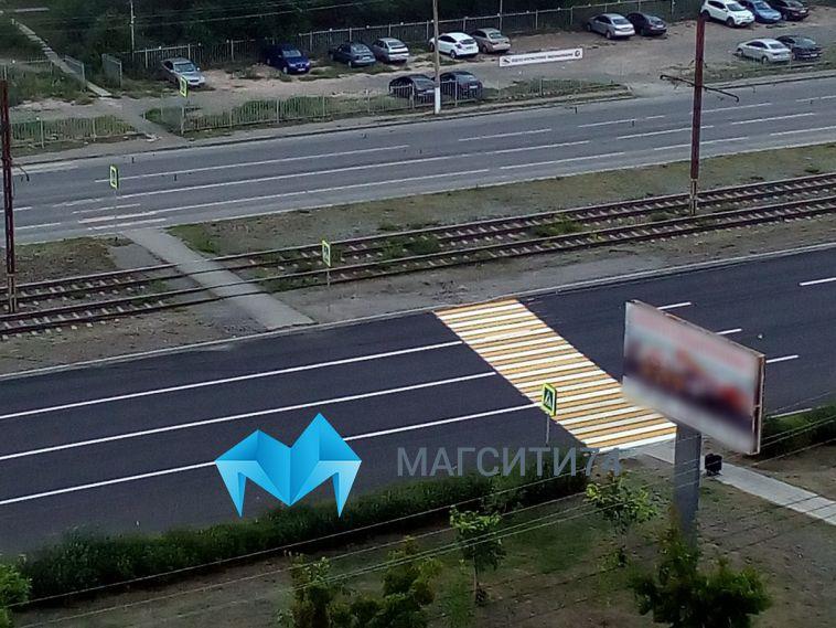 На улице Советской нарисовали «кривой» пешеходный переход