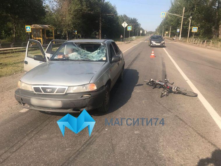На улице Кирова сбили 13-летнего велосипедиста