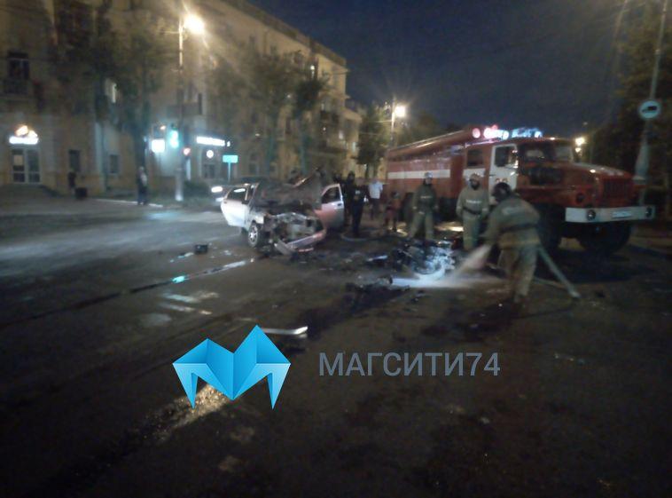 На перекрестке Ленина и Первомайской легковушка сбила мотоциклиста