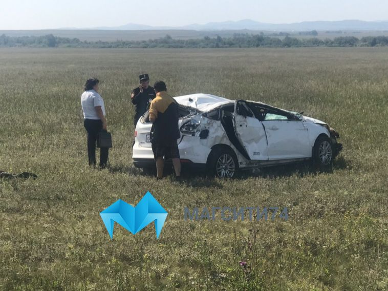 Как вкино: подороге сБанного вМагнитогорск перевернулась иномарка