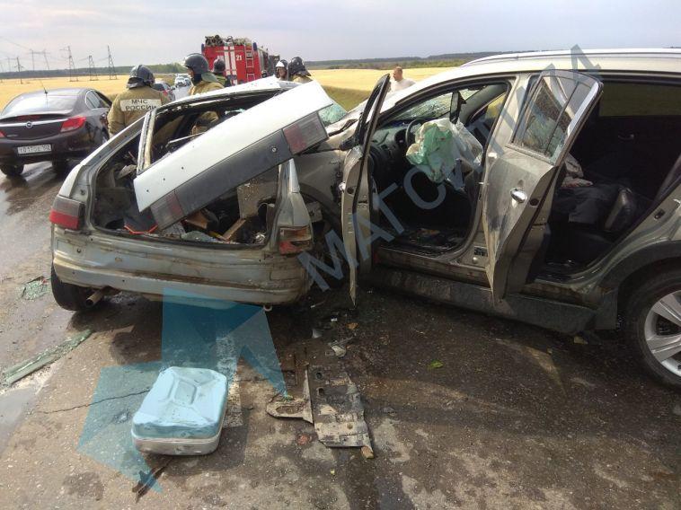 Смертельное ДТП случилось на трассе Магнитогорск-Кизильское
