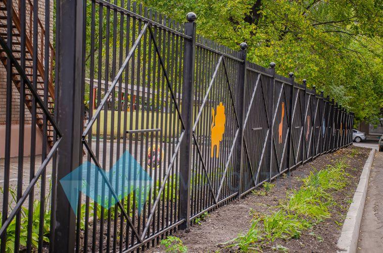 В детских садах Магнитогорска установили новые ограждения