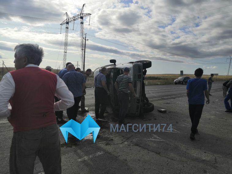 В ДТП под Янгелькой автомобиль с ребёнком вылетел в кювет
